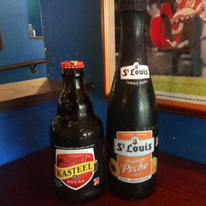 kasteel and peche beer