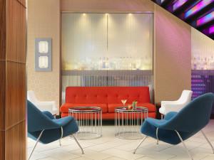 Moonrise Hotel Lobby Vignette
