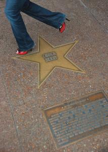 Walk of Fame Chuck Berry Star