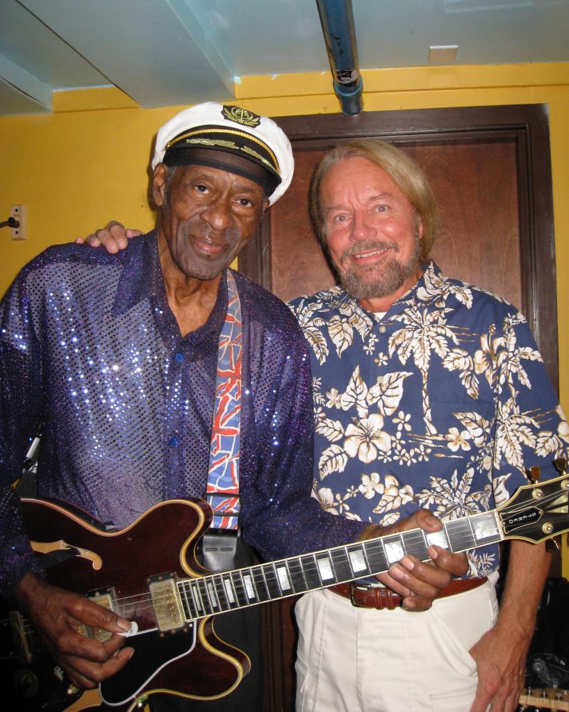 Chuck Berry and Joe Edwards 2013