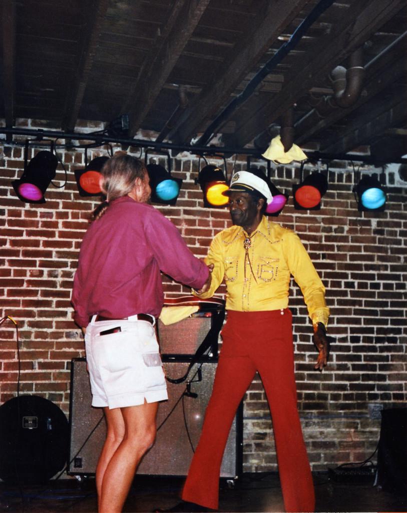 Joe Edwards and Chuck Berry