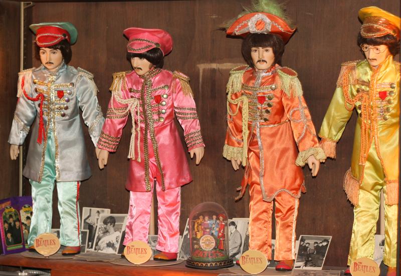 Blueberry Hill Beatles memorabilia